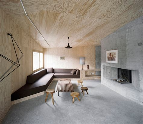 Concrete Interior Design By Afgh
