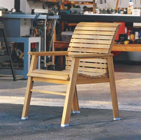 patio chair diy outdoor furniture tutorial