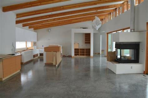 cemento como tendencia de decoracion  interiores