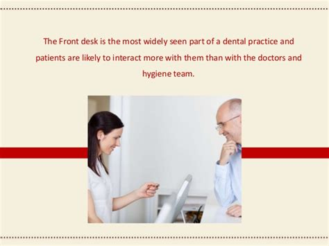 front desk dental office training dental front office training resource