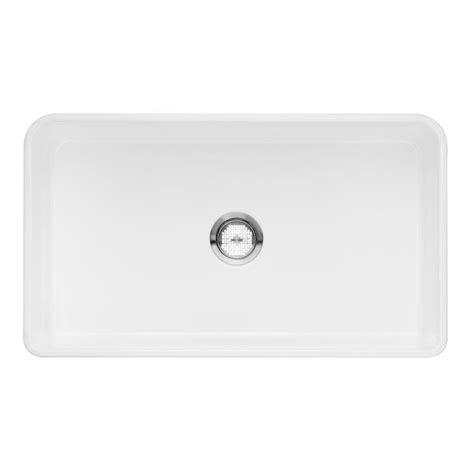 white single basin kitchen sink blanco cerana apron front fireclay 33 in single basin 1867
