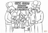 Coloring Scout Pages Brownies Printable Brownie Scouts Coloringhome sketch template
