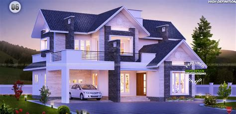 home architecture design proposed kerala house at angamaly home design