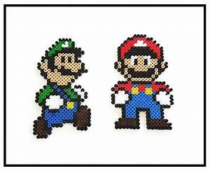 Bügelperlen Super Mario : mario und luigi marioundluigi supermario b gelperlen nintendo hama hamabeads basteln ~ Eleganceandgraceweddings.com Haus und Dekorationen