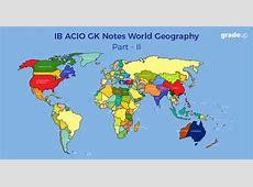 GK for IB ACIO 2017, GK Notes for ACIO Exam on World