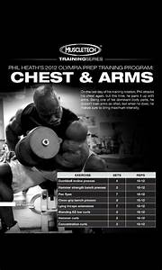 Phil Heath 2012 Olympia Prep Traning  Chest  U0026 Arms  Day  7