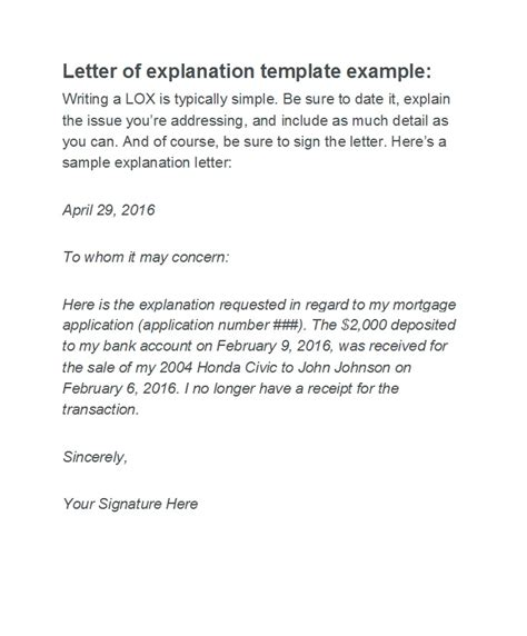 letters  explanation templates mortgage derogatory