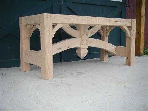 timber frame furniture plans