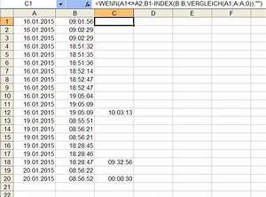 Download Dauer Berechnen : wie kann ich die dauer eines arbeitstags berechnen excel ~ Themetempest.com Abrechnung