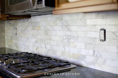 marble tile backsplash kitchen calcatta gold marble backsplash orc kitchen renovation 7372