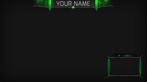 Twitch Stream Template Overlays Skyrim by Poison Cloud Green Stream Overlay Twitch Stream Board