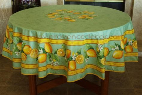 Lemon Green Round Rectangle Cotton French Provence Contemporary Coffee Table Set Rustic Round Kitchen Tables Setting A For Breakfast Expandable Small Apartments Narrow Counter Height Train Dining Sets 8 Office And Chairs