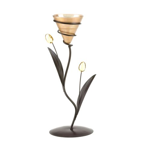 cheap candle holders golden bloom candleholder buy candle