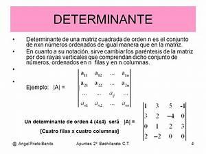 Determinante 4x4 Matrix Berechnen : determinante de una matriz jvusil27 ~ Themetempest.com Abrechnung