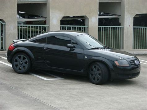sell   audi tt coupe quattro  great condition
