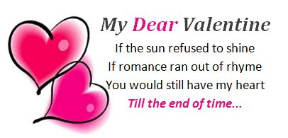 Valentine's Day Poems for Your Crush
