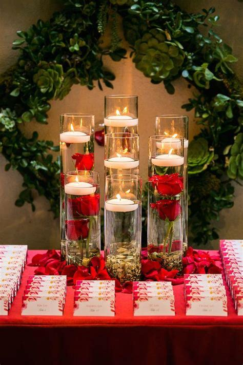 beautiful centerpieces created  candles southern living