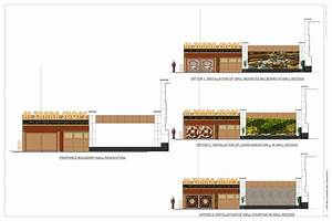 Strip mall boundary wall renovation alla albert archinect