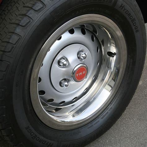 wheel trim ring polished stainless steel set