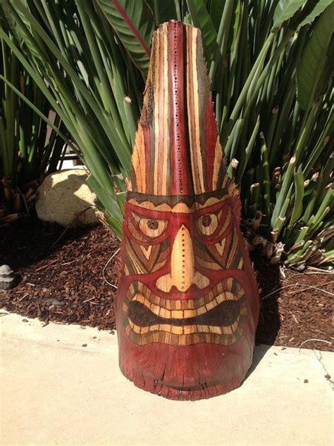 Palm Tiki by Palm Frond Tiki Mask By Ktsartisticxpression On Etsy 150