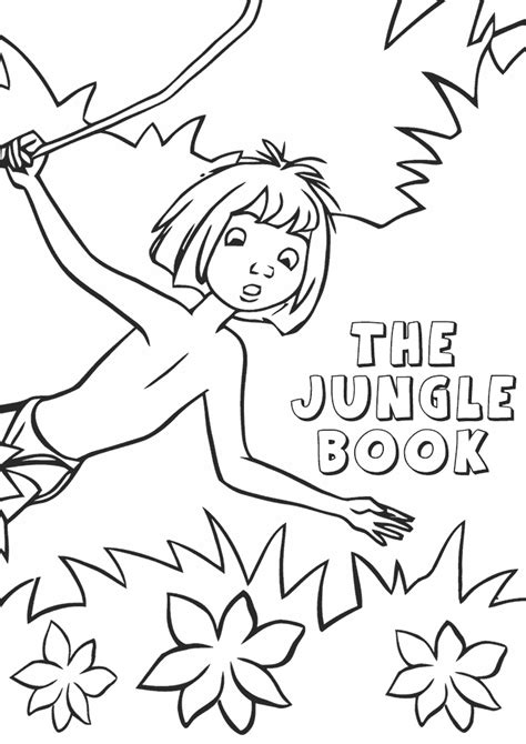 Coloring Jungle Book by Jungle Coloring Pages Best Coloring Pages For