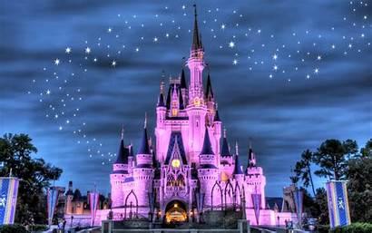 Disneyland Fondo Castle Pantalla Disney Castillo Walt