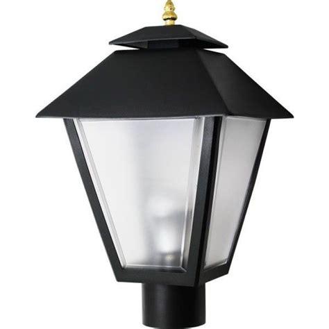 led post light bulb 11w led post top black square coach lantern light pole
