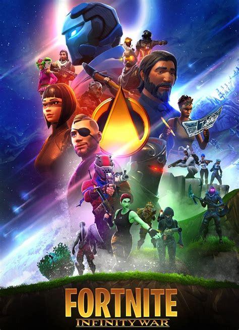 fortnite  avengers fanart poster  ironwolfnetwork