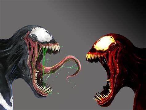 Série sony pictures universe of marvel characters venom (2018) morbius (2022) pour plus de détails, voir fiche technique et distribution venom: 49+ Venom vs Carnage Wallpaper on WallpaperSafari