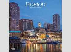 Boston 2019 12 x 12 Inch Monthly Square Wall Calendar, USA