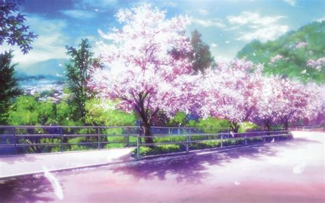 Tree Anime Wallpaper - anime cherry blossom desktop wallpaper wallpaper wiki