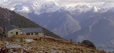 Luxmore Hut   Kepler Track, Fiordland National Park