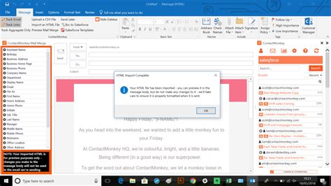 Office 365 Mail Merge outlook mail merge for office 365 send html emails from