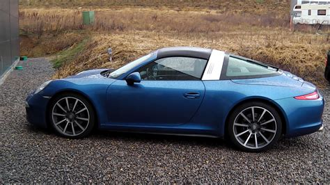 new porsche 911 new porsche 911 targa spotted on the road video