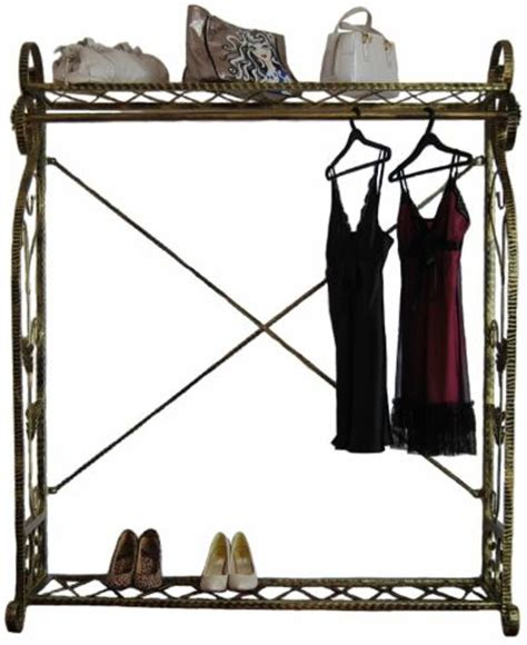decorative metal garment rack boutique display garment rack decorative clothing rack