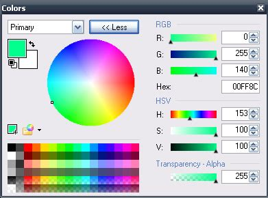 28 how to use color picker in paint net