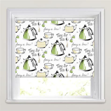 lime green kitchen blinds tea patterned kitchen roller blinds in lime green grey 7091