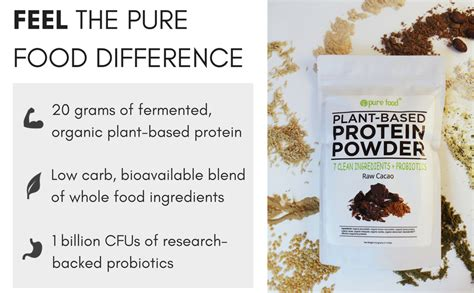 Amazon.com: Pure Food: The Healthiest Plant Based Protein