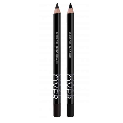 wardah eye brow pencil black wardah make