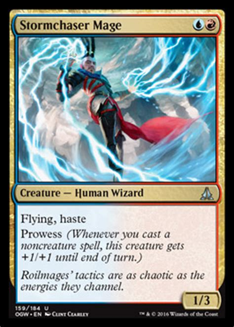 Mtg Pro Tour Decks Modern by Stormchaser Mage Oath Of The Gatewatch Mtg Visual Spoiler