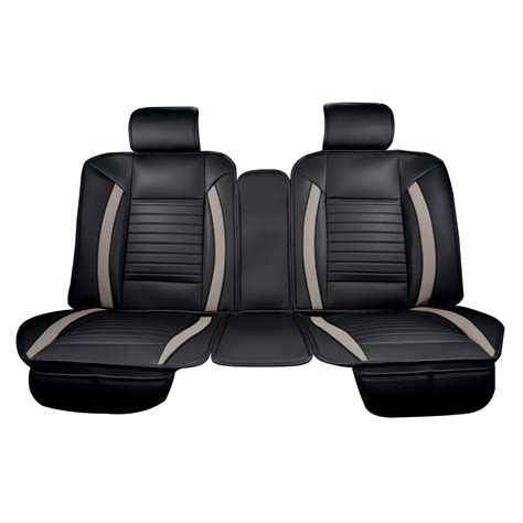 Luxury Series Grey Car Rear Seat Cover  Auto Seat Covers