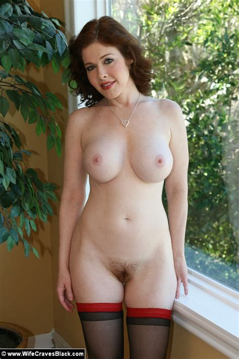 Interracial Porn Busty Redhead Wife In XXX Dessert