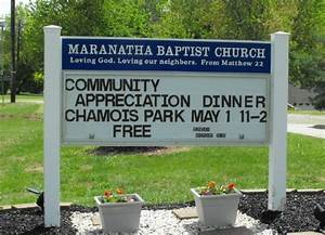 church signs With letters for outdoor church signs