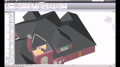 complex multi story roof  revit youtube