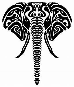 20+ Tribal Elephant Tattoos Ideas