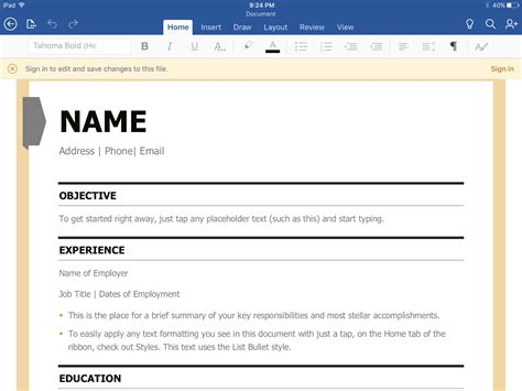 Resume Building App by 8 Cheap Or Free Resume Builder Apps