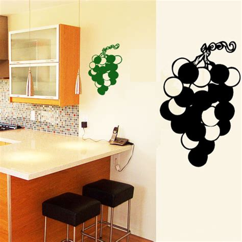 destock cuisine stickers grappe de raisin deco cuisine destock stickers