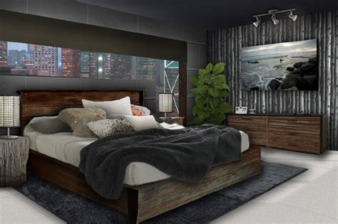 Interior Design Of Masculine Bedroom