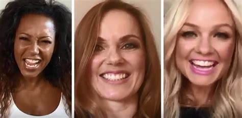 geri horner nickname spice girls reunite as a trio and reveal name change