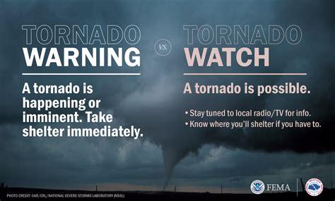 Tornado Watch vs Warning